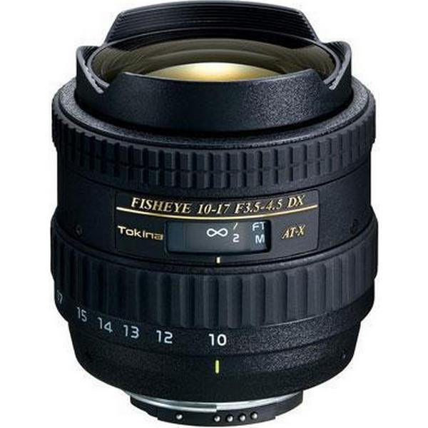 Tokina AT-X 107 AF DX Fish-Eye 10-17mm F/3.5-4.5 for Canon