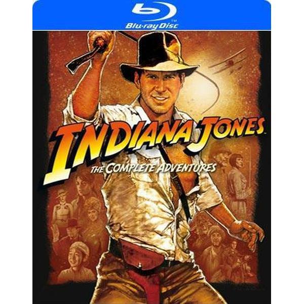 Indiana Jones: The complete adventures (Blu-ray 2012)