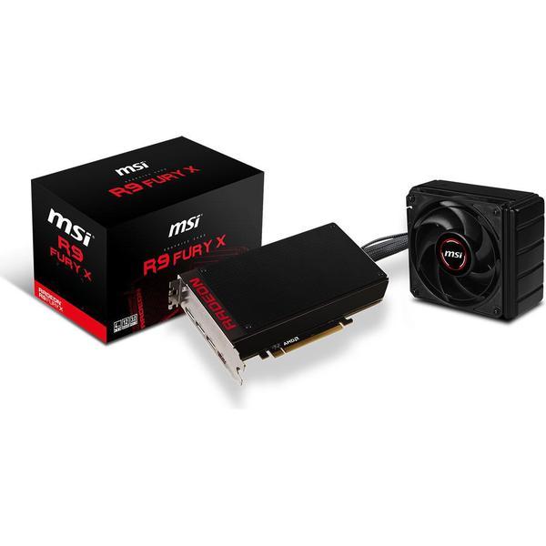 MSI Radeon R9 Fury X 4GB (R9-FURY-X-4G)