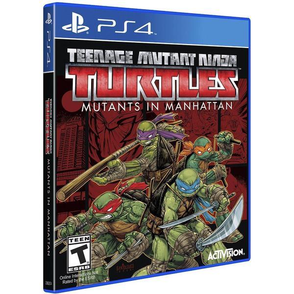 Warriors Orochi 4 Data: Teenage Mutant Ninja Turles: Mutans In Manhattan PS4