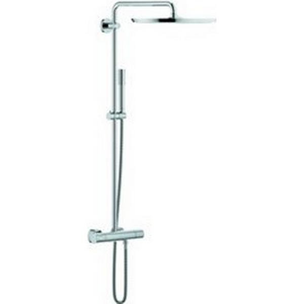 grohe rainshower system 400 krom 150c c sammenlign priser hos pricerunner. Black Bedroom Furniture Sets. Home Design Ideas