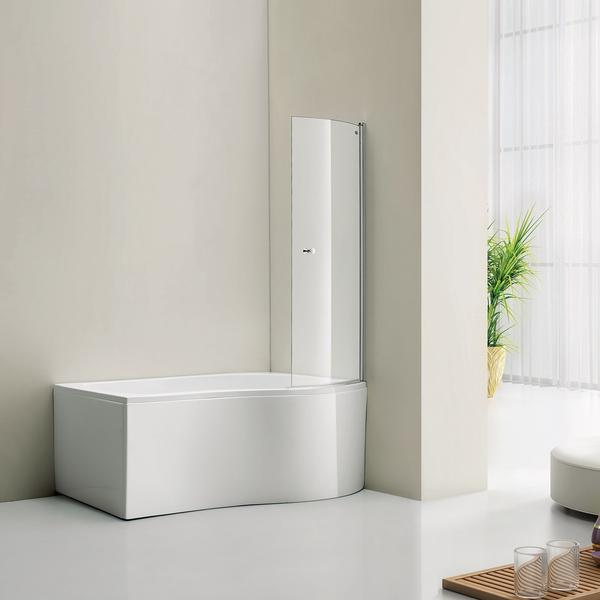 Bathlife Ideal Form 1400 Duschvägg 104mm