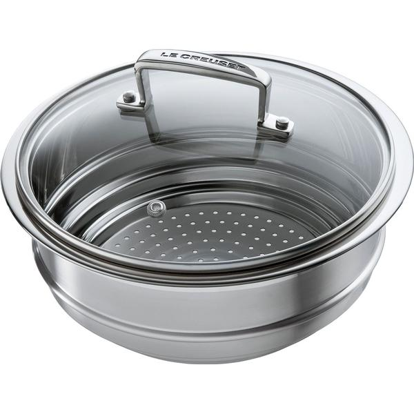 Le Creuset 3-Ply Multi Steamer with Lid