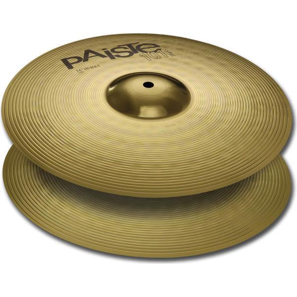 """Paiste 101 Brass Hi-Hat 14"""""""