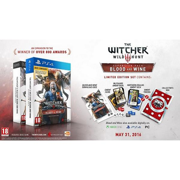 The Witcher 3: Wild Hunt - Blood and Wine Limited Edition