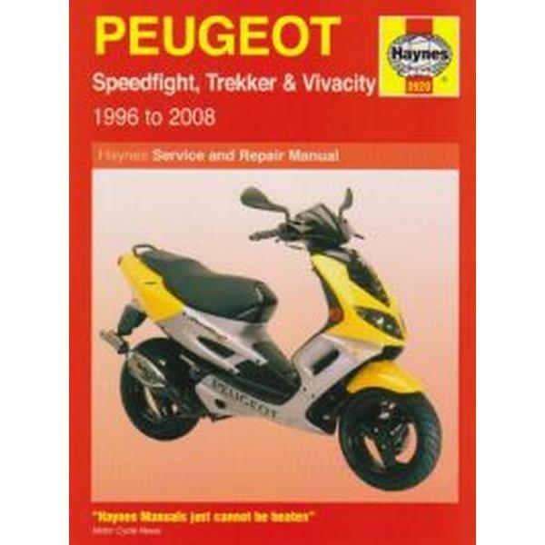Peugeot Speedfight, Trekker (TKR) and Vivacity Service and Repair Manual (Häftad, 2008)