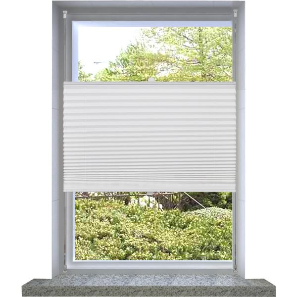 vidaXL Pleated Blind 70x125cm (240598)