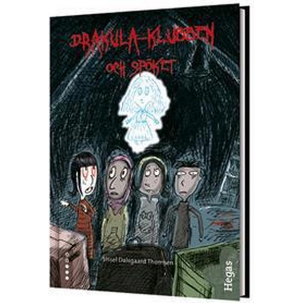 Drakula-klubben och spöket (Bok + CD) (Inbunden, 2015)