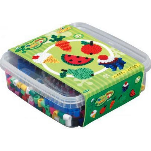Hama Maxi Beads Maxi Pärlor Och Pärlplatta I Låda