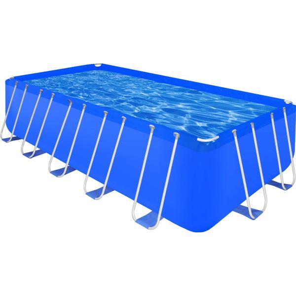 vidaXL Stålramme Rectangular Pool 540x270cm