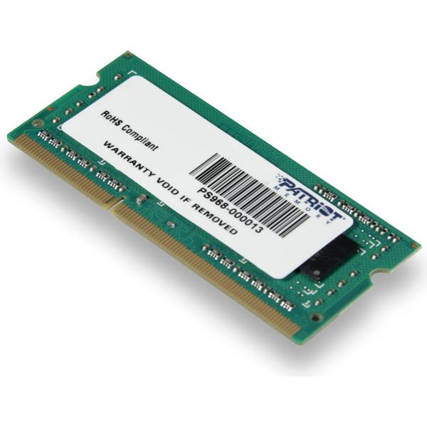 Patriot Signature Line DDR3 1600MHz 4GB (PSD34G160081S)