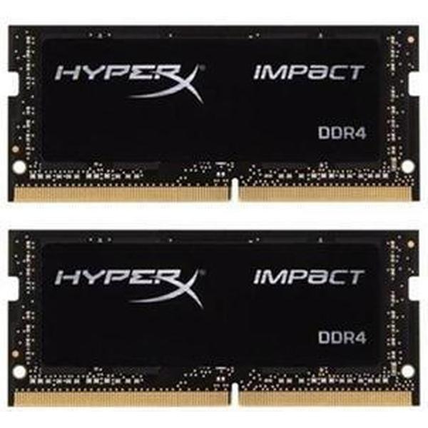 HyperX Impact DDR4 2400MHz 2x4GB (HX424S14IBK2/8)