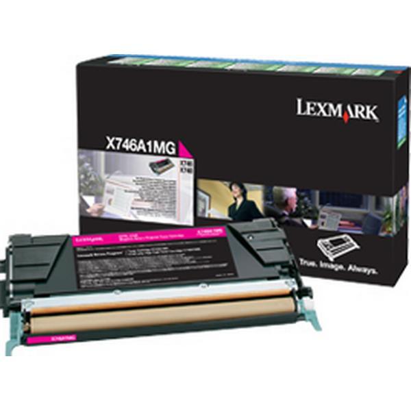 Lexmark (X746A1MG) Original Toner Magenta 70000 Sidor