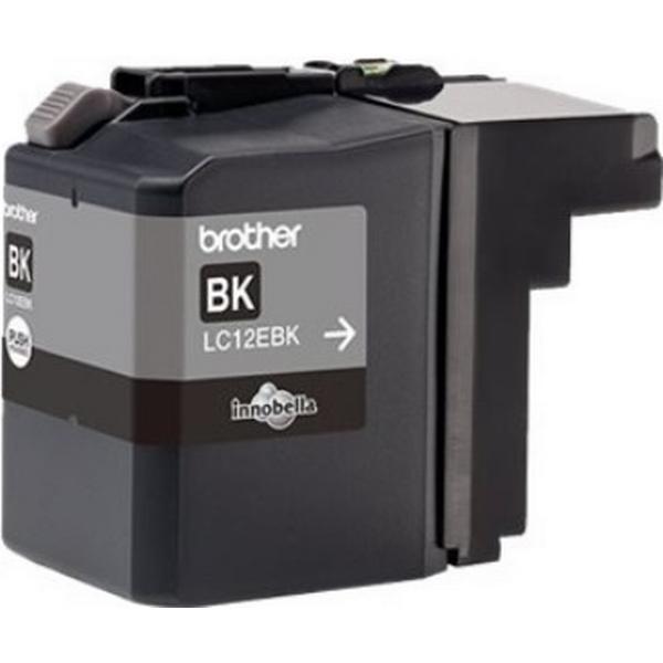 Brother (LC12EBK) Original Bläckpatron Svart 2400 Sidor