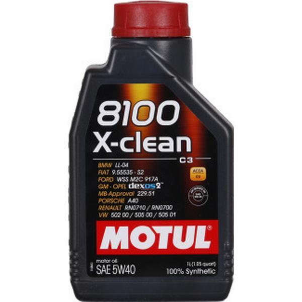 Motul 8100 X-Clean 5W-40 Motor Oil