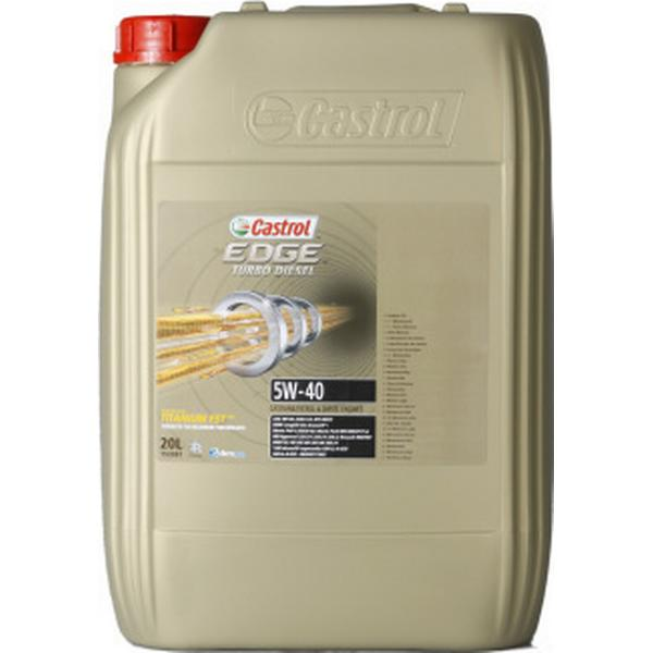 Castrol Edge Titanium FST Turbo Diesel 5W-40 Motor Oil
