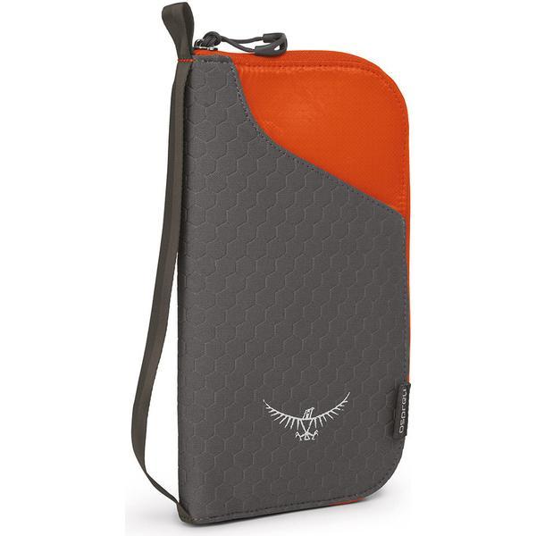 Osprey Document Zip Wallet - Poppy Orange