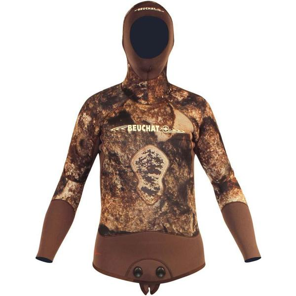 Beuchat Rocksea Full Sleeves with Hood Jacket 3mm M