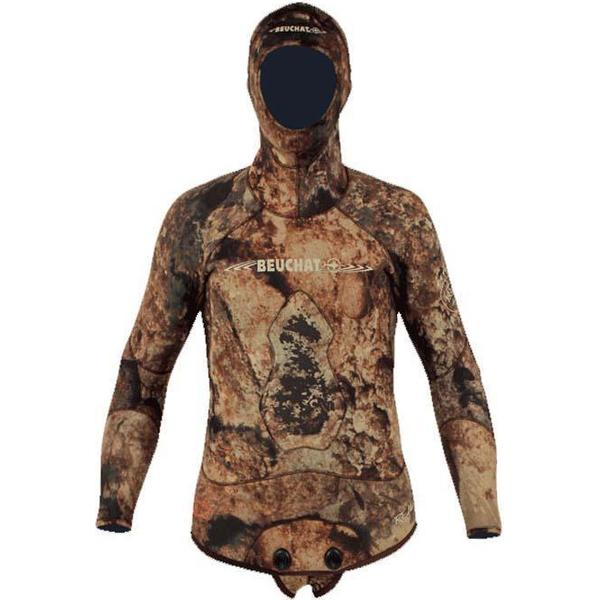 Beuchat Rocksea Competition Full Sleeves with Hood Jacket 7mm M