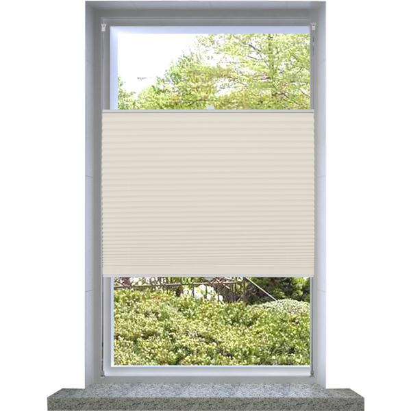 vidaXL Pleated Blind 70x100cm (240629)