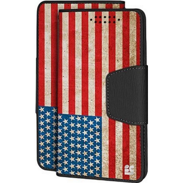 Beyond Cell Infolio Amerikansk Flag Mobilcover (Galaxy S6 Edge+)
