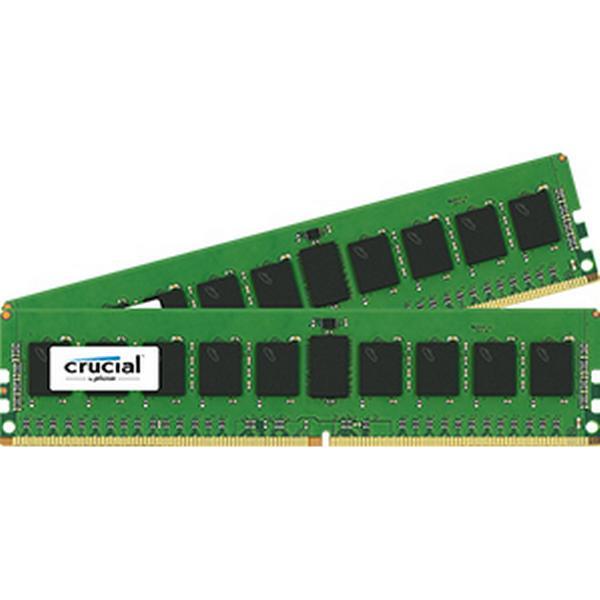 Crucial DDR4 2400MHz 2x8GB ECC Reg (CT2K8G4RFD824A)