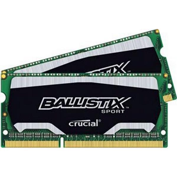 Crucial Ballistix Sport DDR3 1600MHz 2x4GB (BLS2C4G3N169ES4CEU)