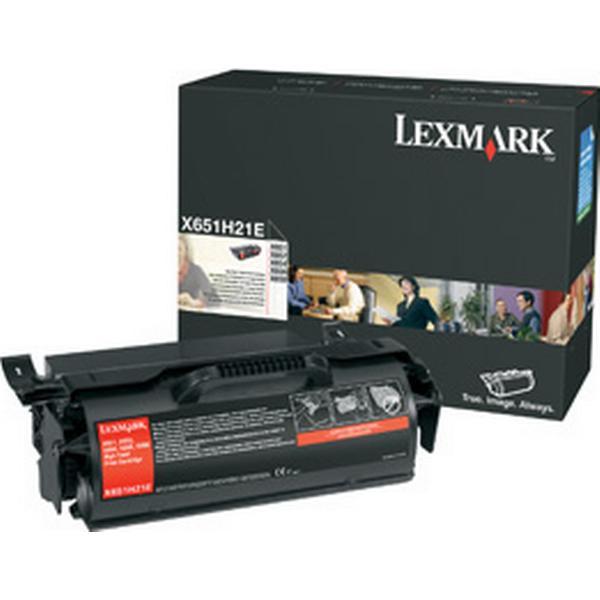 Lexmark (X651H31E) Original Toner Svart 25000 Sidor