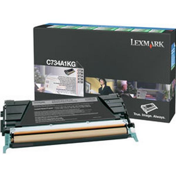 Lexmark (C734A1KG) Original Toner Svart 8000 Sidor