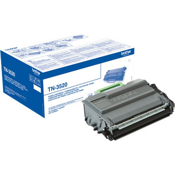 Brother (TN3520) Original Toner Svart 20000 Sidor