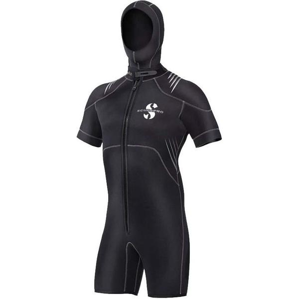 Scubapro Hybrid Short Sleeves with Hood Shorty 6mm M