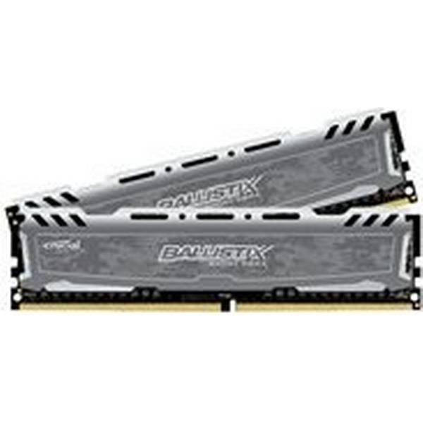 Crucial Ballistix Sport LT Gray DDR4 2400MHz 2x8GB (BLS2C8G4D240FSBK)