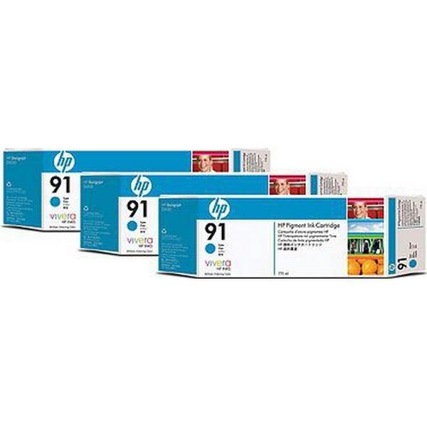 HP (C9483A) Original Bläckpatron Cyan 775 ml