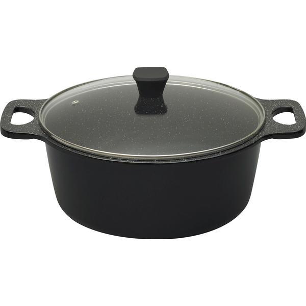 Prestige Stone Quartz Other Pots with lid 28cm