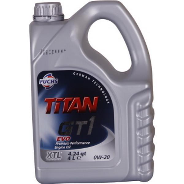 Fuchs Titan GT1 EVO 0W-20 Motorolie