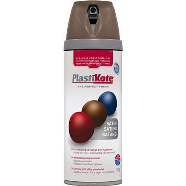 Plasti-Kote Twist & Spray Color Satin Choc Brown Ral 8017