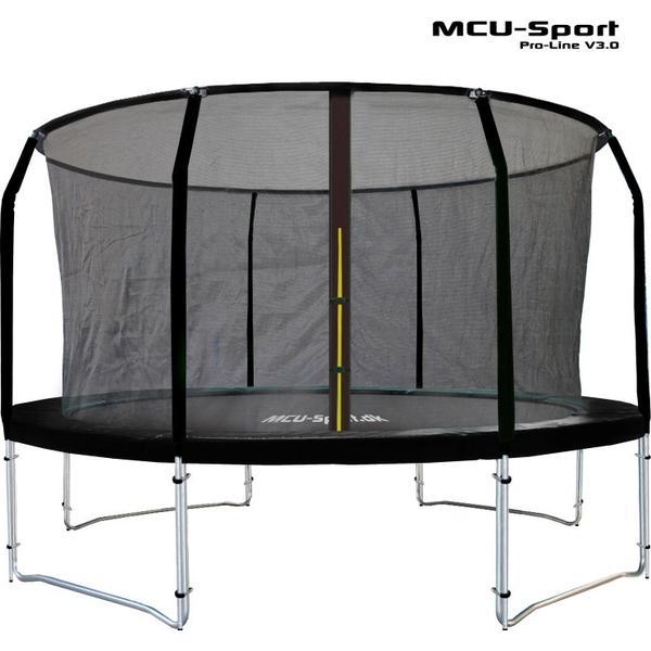 MCU-Sport Pro-Line V3.0 Trampoline 370cm + Safety Net