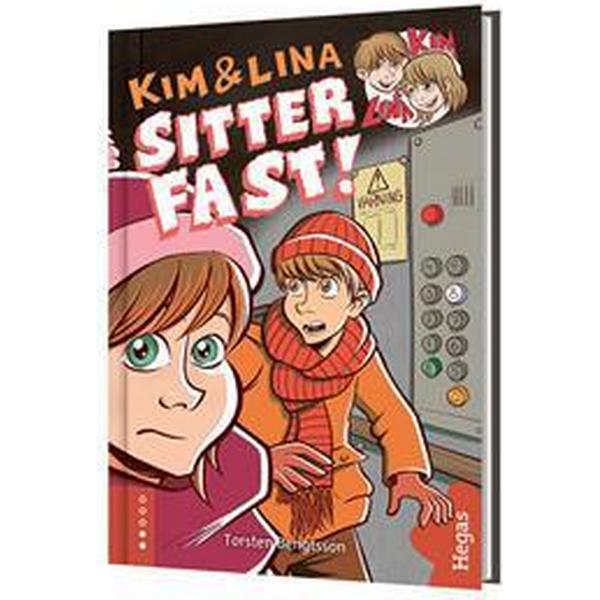 Kim & Lina sitter fast (bok + CD) (Inbunden, 2016)