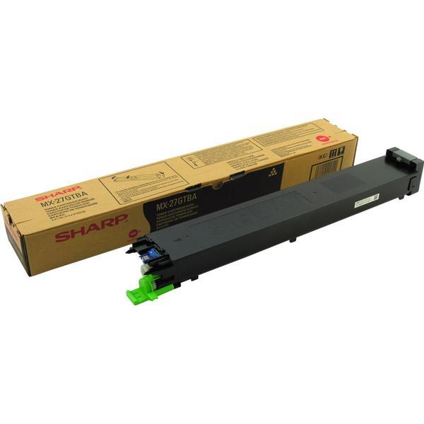 Sharp (MX27GTBA) Original Toner Svart 18000 Sidor