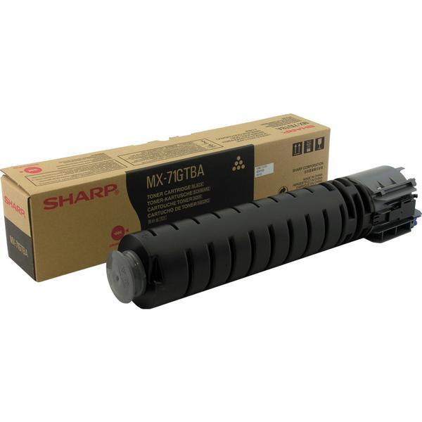 Sharp (MX71GTBA) Original Toner Svart 42000 Sidor