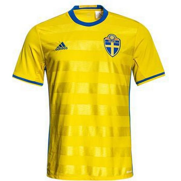 Adidas Sverige Hjemmebanetrøje 16/17 Børn