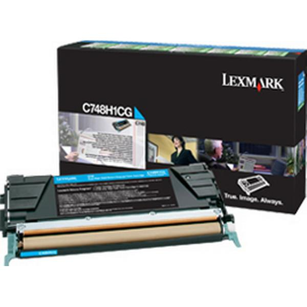 Lexmark (C748H1CG) Original Toner Cyan 10000 Sidor