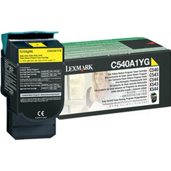 Lexmark (C540A1YG) Original Toner Gul 1000 Sidor
