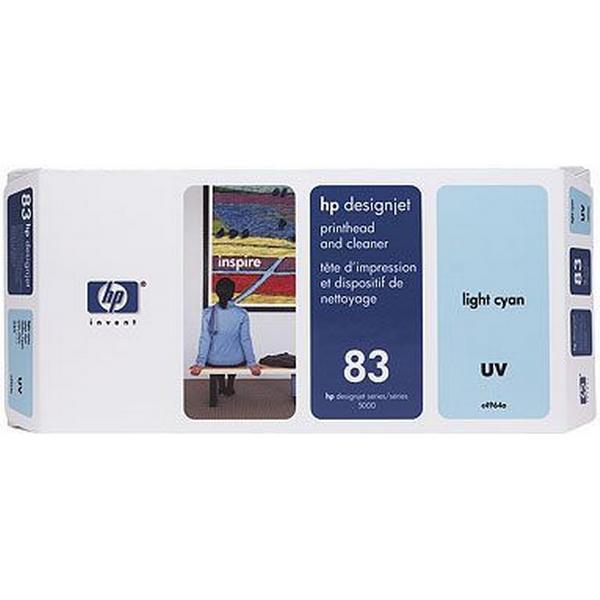 HP (C4964A) Original Skrivhuvud Ljuscyan