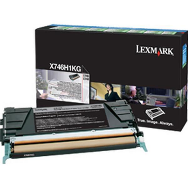 Lexmark (X746H1KG) Original Toner Svart 12000 Sidor