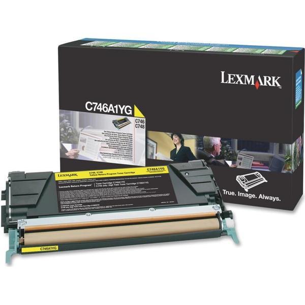Lexmark (C746A1YG) Original Toner Gul 70000 Sidor
