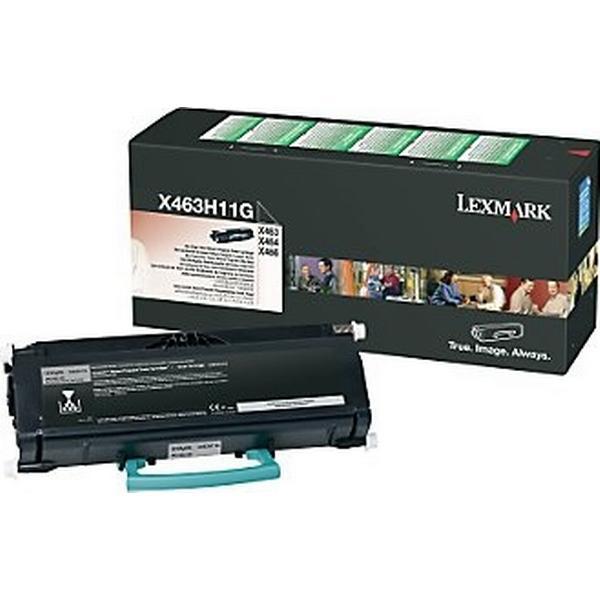 Lexmark (X463H11G) Original Toner Svart 9000 Sidor