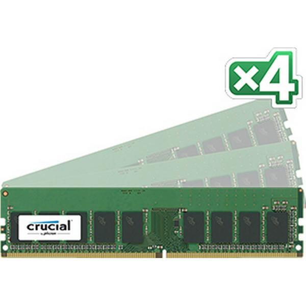 Crucial DDR4 2400MHz 4x16GB ECC (CT4K16G4XFD824A)