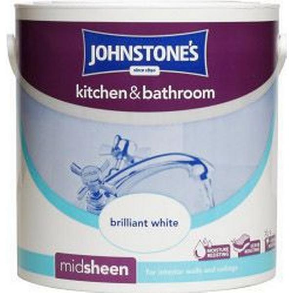 Johnstones Midsheen Wall Paint White 2.5L