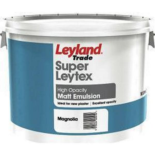Leyland Trade Super Leytex Matt Wall Paint, Ceiling Paint White 10L